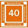 GARANTIE 40 ANI